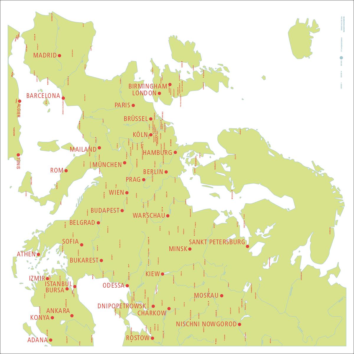 Uralgebirge Karte.Quadratura Europae 2015 Jo Krieg Designer